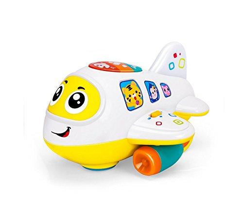 My First Flugzeug 12Monate + Baby Spielzeug Intelligenz Flugzeug Spielzeug Musik/Licht/Sound für Kinder & Kinder Jungen und Mädchen