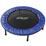 Physionics® Fitness Trampolin - Durchmesser (Ø): 81cm/ 91cm/ 96cm/ 102cm/ 114cm/ 122cm, Indoor und...