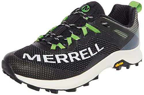 Merrell MTL Long Sky, Chaussure de Piste d'athltisme Homme, Noir/Lime, 41 EU