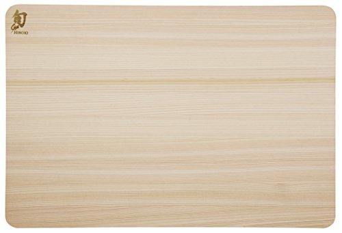 Shun DM0816 planche à découper, Bois, naturel, 27,5 x 21,5 x 10,0 cm