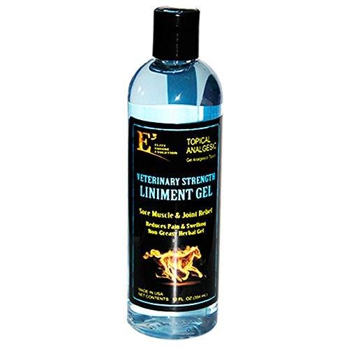 E3 Elite Liniment Gel for Pets, 12 oz.