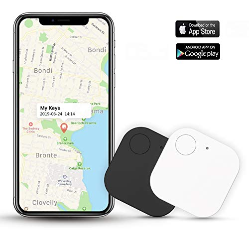 Kimfly Key Finder Smart Tracker-2Pcs,Item Finder Phone Finder Bluetooth Tag