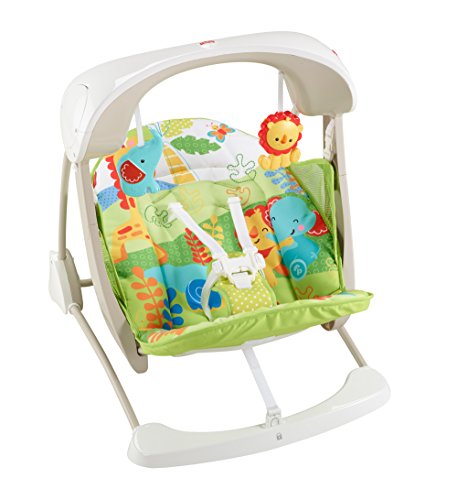 Fisher-Price Take-Along Swing and Seat, Rainforest Friends