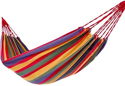 Zixin Hamaca de Lona de Camping Suministros for Acampar Dormitorio Mecedora, 200 * 150 (Size : 200 * 100)