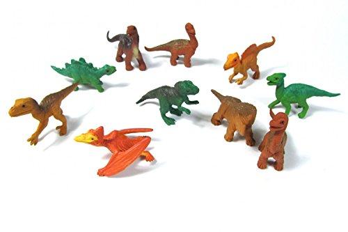 Miniblings 10x Dinosaurier Echsen Tierfiguren Aufstellfiguren Dinos Saurier Rex