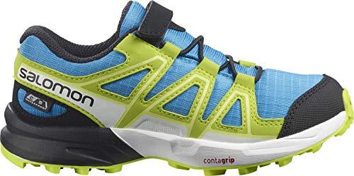Salomon Speedcross Climasalomon™ Waterproof (impermeable) Kids unisex-niños Zapatos de trail running, Azul (Hawaiian Ocean/Evening Primrose/Charlock), 26 EU