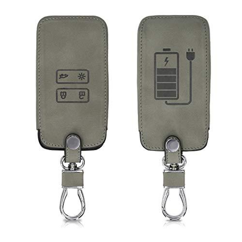 kwmobile Funda Compatible con Renault Llave de Coche Smart Key de 4...