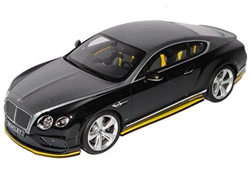 GT Spirit Bentley Continental GT Speed Breitling Schwarz Silber Jet Team Nr 734 1/18 Modell Auto