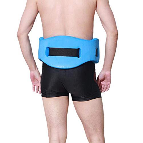 Protection Aqua Fitness Foam Flotation Aid, Swim Floating Back Belt, Water Aerobics Exercise Belt, Swim Training Equipment for Low Impact Swimming Pool Workouts