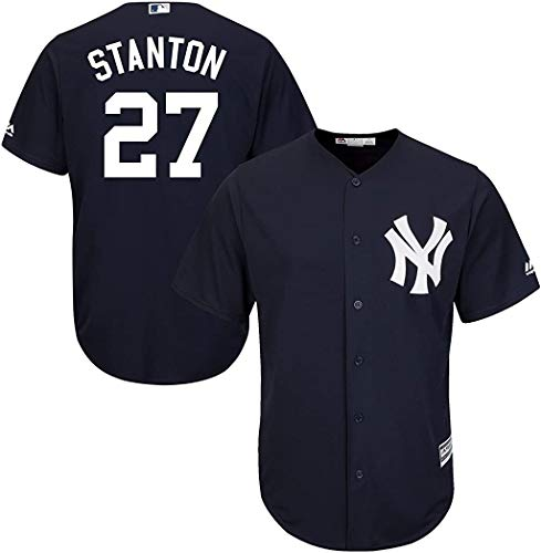 Outerstuff Giancarlo Stanton New York Yankees Toddler Navy Alternate Cool Base Replica Jersey (4T)