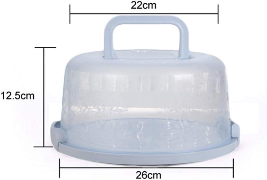 runde Kuchenaufbewahrung Kuchenbox Dessertbeh/älter YChoice365 Kuchentr/äger Kuchenzubeh/ör transparentes Plastik-Kuchenblech mit Deckel und Griff
