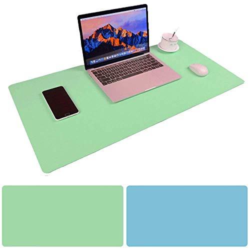 Schreibtischunterlage Multifunktionale Mauspad, 31,5 x 15,75 Zoll rutschfeste Pu-Leder Schreibtisch-Maus-Matte wasserdichte Schreibtisch Pad Protector Schreibmatte