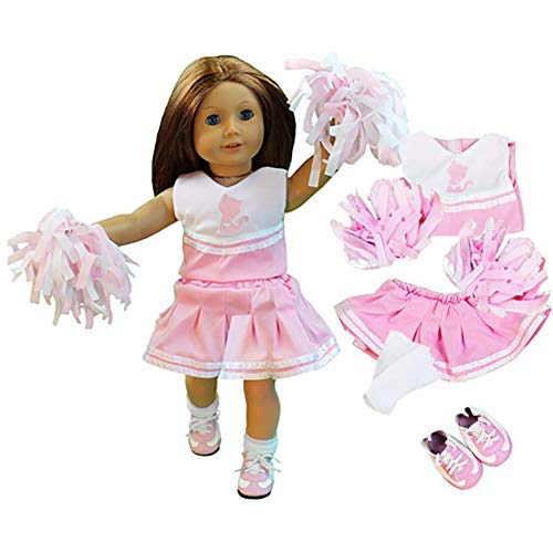 Amazon.com: Cheerleader Doll Outfit for