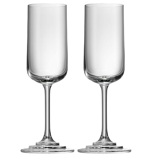 WMF Champagne- / champagneglazen Proseccogglazen set van 2 hoogte 24 cm Michalsky Tableware 250 ml glas Made in Germany vaatwasserbestendig hoogwaardig edel helder transparant