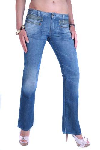 Diesel Mujeres Pantalones Vaqueros Crossim 0084R Azul (W25/L32)