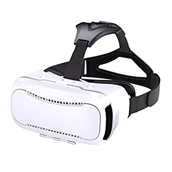 HJSW VR Headsets Virtual Reality Headset VR Goggles Glasses for 3D VR Movies Video Games for iPhone 12/Pro/Max/Mini/11/X/Xs/8/7 for Samsung & Android Phones W/4.7-6.8in Z073MK