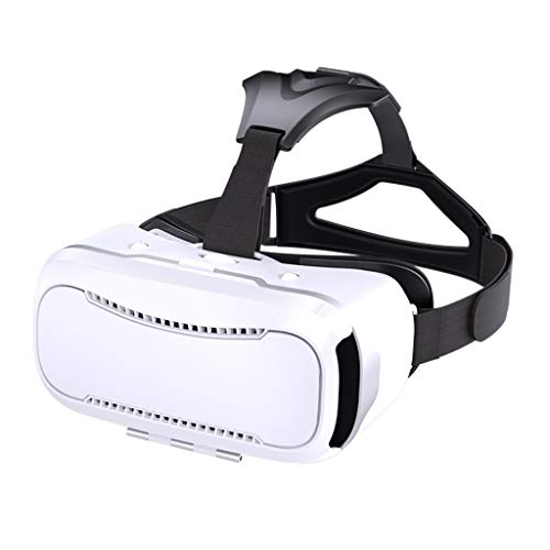 HJSW VR Headsets Virtual Reality Headset VR Goggles Glasses For 3D VR Movies Video Games For IPhone 12/Pro/Max/Mini/11/X/Xs/8/7 For Samsung & Android Phones, W/4.7-6.8in, Z073MK
