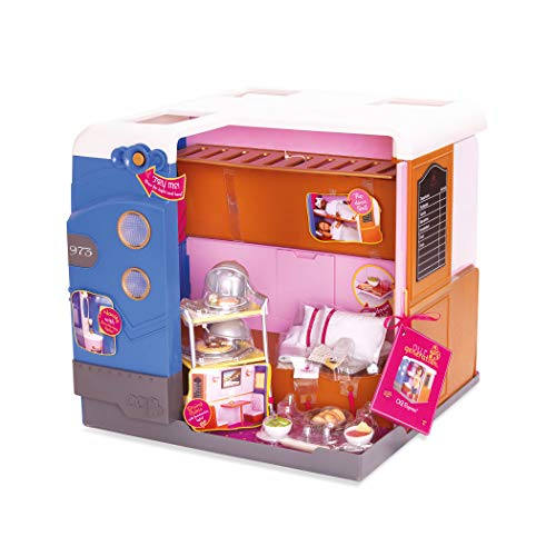 Our Generation- Cabina de Tren para muñecas, Color (Battat BD37856Z)
