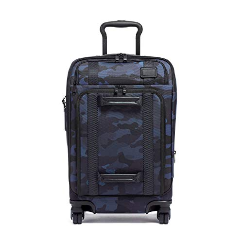 TUMI - Merge International Front Lid 4 Wheeled Carry-On Luggage - 22 Inch Rolling Suitcase for Men and Women - Navy Camouflage