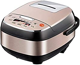 SHAAO 6L Large Capacity Electric Rice Cooker Handheld Home Rice Soup Cooking Multicooker Intelligence Full Automatic Kitch...