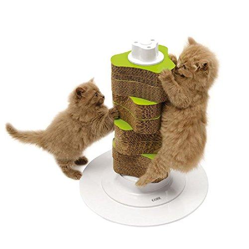 Rascador de gatos para gatos y gatos pequeños, paquete de recambios de FREE