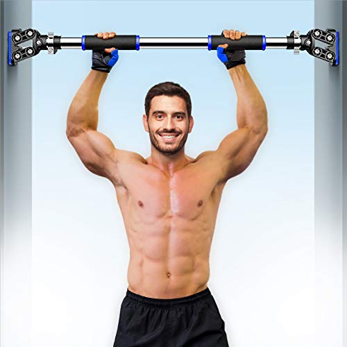 Product Image of the I IBIFIC Pull Up Bar Doorway Exercise Equipment Wall Mounted Adjustable Width...