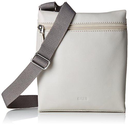 BREE Damen Vora 1 Schultertasche, Grau (Grey Morn), 21x5.5x18.5 cm