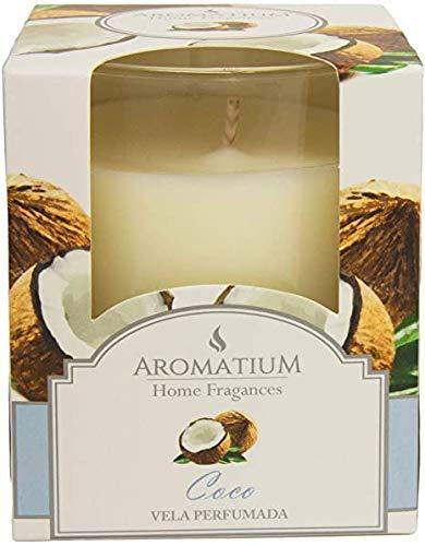 Aromatium Vaso Vela Perfumada Coco
