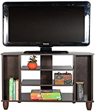 DeckUp Dusun TV Unit (Dark Wenge, Matte Finish)