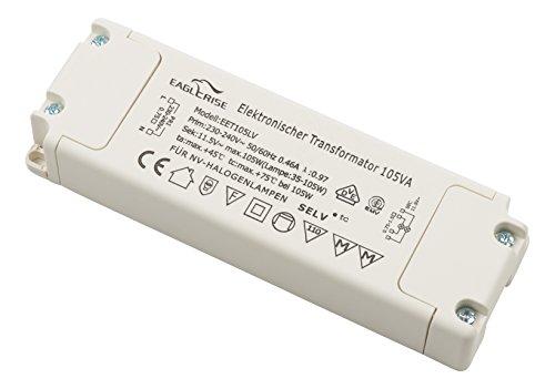 conecto X-HT010 by Eaglerise Halogentransformator 12V/35-105Watt, 220-240V, 50Hz