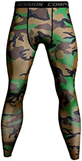 Zooka Men Fashione New Compression Pants Camouflage Fitness Pants Skinny Leggings Crossfit Quick Dry Thin Track Pants Gyms Bodybuilding Tight