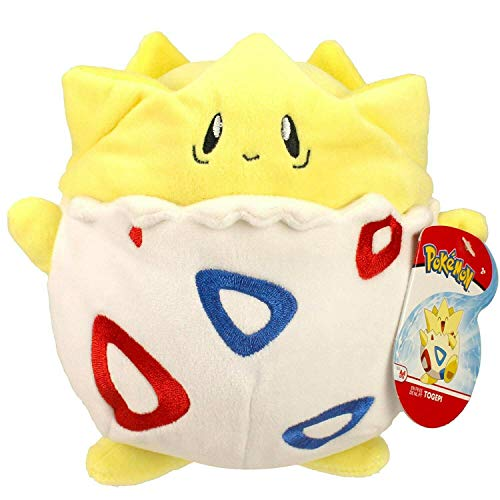 PoKéMoN Togepi Plush 20 cm - Wave 3, Newest Edition 2019 - Catch 'Em All