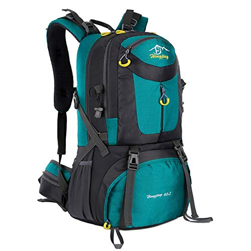 Mountaineering Backpack Multifunctional Waterproof Hiking Backpack Lightweight 50L Travel Hiking Camping Fishing Backpack Outdoor Sports Hiking Backpack Rock Climbing Camping Back Unisex Outdoor Hikin