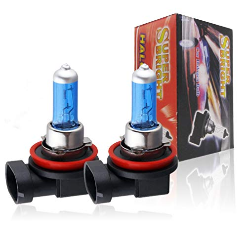 Faros LED 6000K-Super-White -H11-100W-Bi-Xenon-HID-High-Low-Low-Beam-Bombilla-bombillas