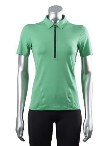 FALKE Damen Running Poloshirt Short Sleeved Experience, Apple, L, 38588
