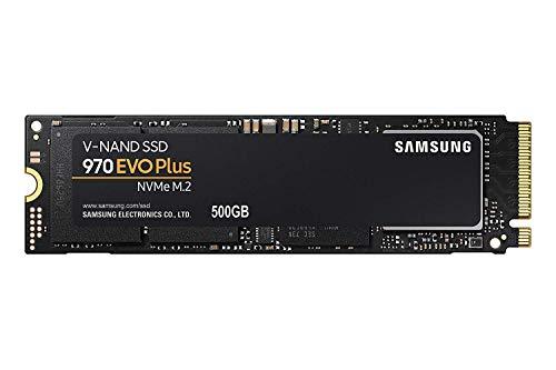 サムスン SSD 500GB 970 EVO Plus M.2 Type2280 PCIe3.0×4 NVMe1.3 (MZ-V7S500BW