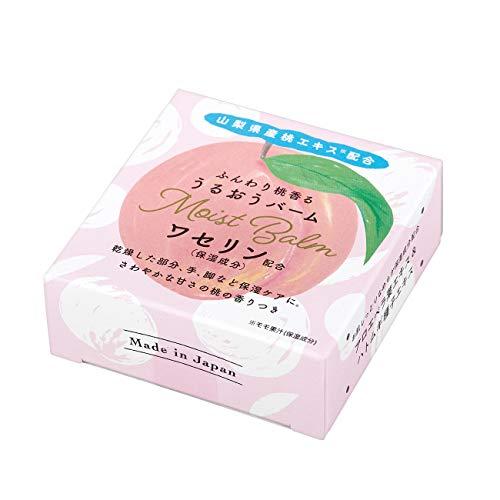 グローバル プロダクト プランニング 山梨県産[桃]香るうるおうバーム(ワセリン配合 しっかり保湿 乾燥に 日本製 携帯用) 15g