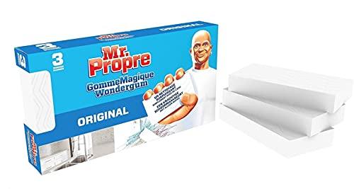 6 spugne magiche Mastro Lindo gomme detergenti originali