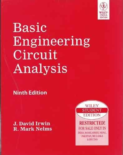 Basic Engineering Circuit Analysis, 9th Edition