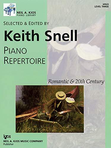 GP623 - Piano Repertoire: Romantic & 20th Century, Level Three