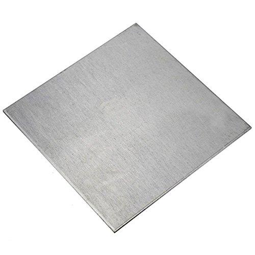 CynKen 2x200x200mm Titanium Plate Sheet TA2/GR2 Sheet