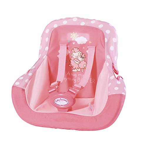 Zapf Creation 701140 Baby Annabell Travel Autositz, rosa