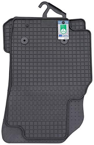 PETEX Gummimatten passend für Karl ab 06/2015 Fußmatten schwarz 4-teilig