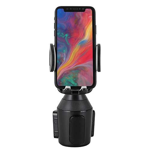 EEEKit Soporte para teléfono Soporte para Taza, Soporte para Soporte de Taza Ajustable Soporte para Coche, Compatible con iPhone XS/XS MAX/X / 8/7, Samsung Galaxy S9 / S8 / S7 / Note8 / Note9