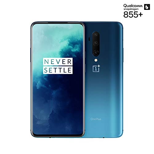 "OnePlus 7T Pro Smartphone Haze Blue | 6.67""/16,9 cm AMOLED Display 90Hz Screen 