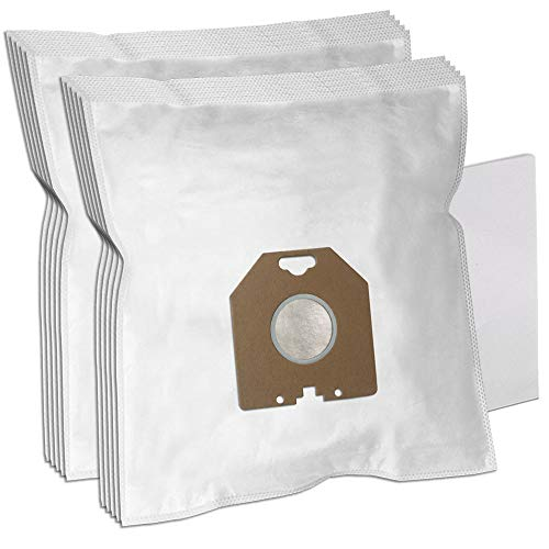 PakTrade 10 Staubsaugerbeutel + Filter für Philips TC 411, TC 631, TC 526, TC 836, TC 511, TC 737, TC 612, TC 874