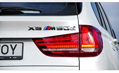 E53 E70 F15 X5 50d M-Sport Heckklappen-Emblem, Logo