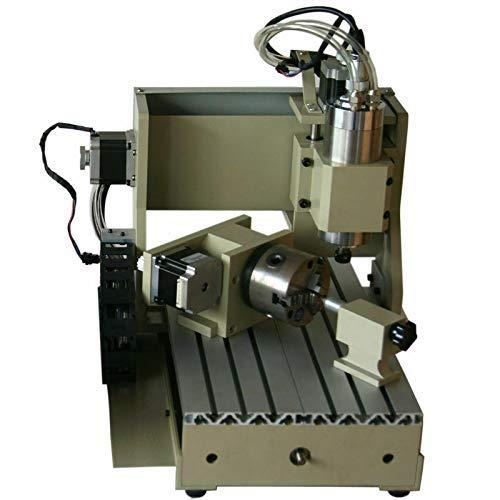 BTdahong 4 ejes, 800 W, 3020, router CNC, fresadora, fresadora, máquina de grabado 3D, VFD