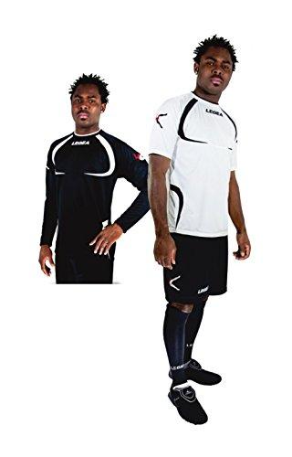 LEGEA Kit Completo Calcio Art Tornado Taipei Colore E Misura A Scelta Bianco/Blu XL