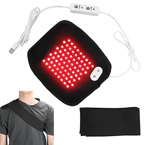 Cintura di Riscaldamento della Vita Cintura di Fisioterapia Cintura di Sollievo Dal Dolore Terapia Regolabile con Luce Rossa Dispositivo di Avvolgimento della Parte Bassa della Schiena per Alleviare i